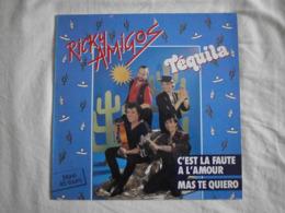 RICKY AMIGOS - Tequila - Maxi EP - BIG BEAT RECORDS - 45 G - Maxi-Single