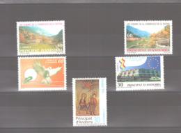 Année 1995 ** MNH N° 231 à 235 - Spanisch Andorra