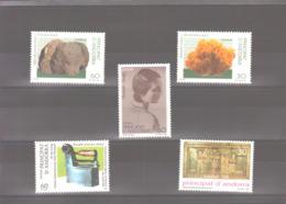 Année 1996 ** MNH N° 236 à 240 - Spanisch Andorra