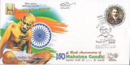 India  2019  HYPEX  150th Birth Anniversary Of  Mahatma Gandhi  Special Cover  # 23426 C&D Inde  Indien - Mahatma Gandhi