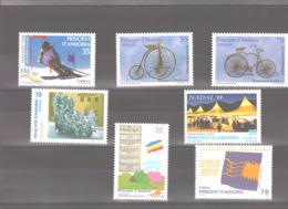 Année 1998 ** MNH N° 246 à 252 - Spanisch Andorra