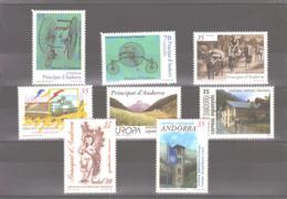 Année 1999 ** MNH N° 253 à 260 - Spanisch Andorra