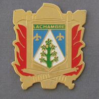 1 Pin's Sapeurs Pompiers De LACHAMBRE (MOSELLE - 57) - Firemen