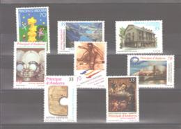Année 2000 ** MNH N° 261 à 268 - Neufs