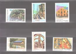 Année 2001 ** MNH N° 269 à 274 - Unused Stamps