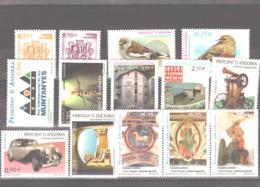 Année 2002 ** MNH N° 275 à 288 - Spanisch Andorra