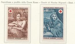 PIA  - FRANCIA  -  1969  : A Profitto Della Croce Rossa -  Quadri Di Nicolas Mignard   - (Yv  1619-20) - First Aid