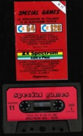 Videogioco S.Games (Spectrum 48KePlus) (C64-C128) Cassetta N.11, Vedi Foto - Electronic Games