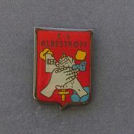 1 Pin's Sapeurs Pompiers D'ALBERSTROFF (MOSELLE - 57) - Pompiers