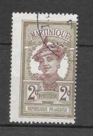 Variété : Timbres De 1908-18 : N°62 Chez Y Et T. (Voir Commentaires) - Martinica (1886-1947)