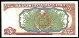 * Cuba 3 Pesos 1995  ! UNC ! - Cuba