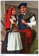 FOLKLORE BEARNAIS Jeune Couple. TBE - Costumi
