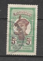 Timbres De 1908-18 : N°64 Chez Y Et T. (Voir Commentaires) - Martinique (1886-1947)