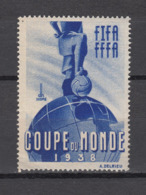 Football / Soccer / Fussball - WM 1938: Frankreich  Vign. ** - World Cup
