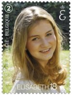Belgie - 2019 - OBP  - **  Prinses Elisabeth Wordt 18 Jaar  ** - Belgien
