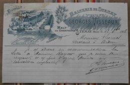55 STENAY Georges Visseaux  MALTERIE DE STENAY - France