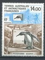 253 TERRES AUSTRALES (TAAF) 1993 - Yvert 180 - Antarctique Pingouin - Neuf ** (MNH) Sans Trace De Charniere - Tierras Australes Y Antárticas Francesas (TAAF)