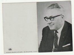 Doodsprentje Desideer Henri Van Doninck Echtg. Lanes Herentals 1908 Burgemeester Leuven 1974 - Devotion Images