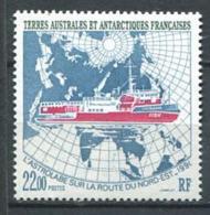 253 TERRES AUSTRALES (TAAF) 1993 - Yvert 181 - Antarctique Bateau Globe - Neuf ** (MNH) Sans Trace De Charniere - Tierras Australes Y Antárticas Francesas (TAAF)