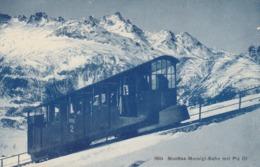 MUOTTAS-MURAIGL-BAHN . - GR Graubünden