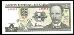 * Cuba 1 Peso Commemorative 2003 ! UNC ! - Cuba