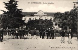 FR34 MONTPELLIER - Nouvelles Galeries 37 - Hôpital Suburbain - Animée - Belle - Montpellier