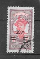 Timbres De 1908 Avec Nouvelle Valeur : N°111 Chez Y Et T. (Voir Commentaires) - Martinica (1886-1947)