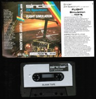 Videogioco-Sinclair ZX Spectrum 48K (flight Simulation) Cassetta G11/S-vedi Foto - Electronic Games