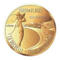 Monnaie De Paris , 2018 , La Rochelle , Tour De La Chaîne , Tous à La Plage - Monnaie De Paris