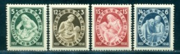 1937 Winter's Aid,Nurse,children,Old People Support,sick Person,Austria,642,MNH - Disease