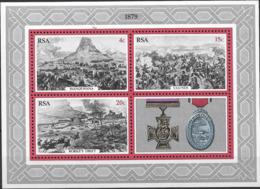 1979 Südafrika Mi. Bl. 7**MNH 100. Jahrestag Des Zulu-Krieges. - Südafrika (1961-...)