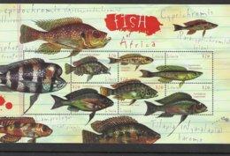 LIBERIA Nº 2629 AL 2634 - Fische