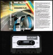 Videogioco-Sinclair ZX Spectrum 48K (chequered Flag) Cassetta G31/S-vedi Foto - Electronic Games