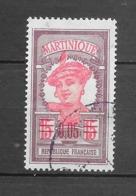 Timbres De 1908 - 1918 Surchargés : N°88 Chez Y Et T. (Voir Commentaires) - Martinica (1886-1947)