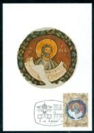 1983 Moses,roman Frescoe,Vatican,FDC Maxi Card - Christianity
