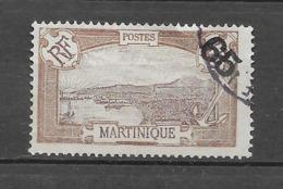 Timbres De 1908 - 1918 Surchargés : N°90 Chez Y Et T. (Voir Commentaires) - Martinique (1886-1947)