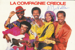 La Compagnie Creole Avec Dedicace Cpsm Gm - Künstler