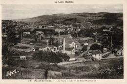 Mines, Mine : Saint-Etienne - (42) Loire - Les Fours à Coke Et Le Puits Montmartre - Saint Etienne