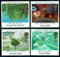 Great Britain 1985 Cuckoo,Handel,Holst,Delius,Elgar,Planets,Water,Mi.1027,MNH - Cuckoos & Turacos