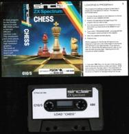 Videogioco-Sinclair ZX Spectrum 48K (chess) Cassetta G10/S-vedi Foto - Other