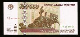 * Russia 100000 Rubles 1995 ! UNC ! 1236457 - Russland