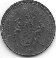 *notgeld Meuselwitz 10 Pfennig 1918 Zn  335.2 - Andere