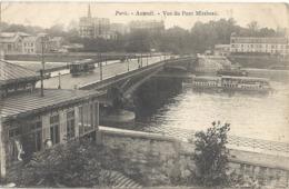 CPA Paris Auteuil Vue Du Pont Mirabeau - Distretto: 16