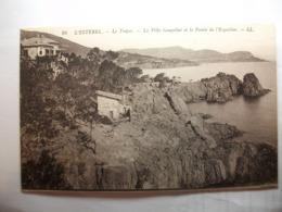 Carte Postale L'Esterel (83) Le Trayas - La Villa Goupillat Et La Pointe De L'Esquillon (Petit Format Non Circulée ) - Frankreich