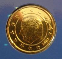 ===== 20 Cent Belgique 2001 état BU ===== - Bélgica