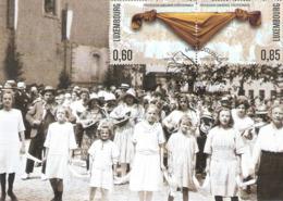 Echternach: Procession Dansante Vers 1920 , Carte Maximum 2012 - Maximum Cards