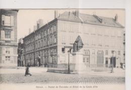 CPA-08-Ardennes- SEDAN- Statue De Turenne Et Hôtel De La Croix D'Or- - Sedan