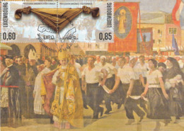 Echternach: Procession Dansante 1937 , Carte Maximum 2012 - Maximum Cards
