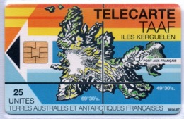 TAAF N° 2 - Iles Kerguelen 25u - Neuve Luxe - Cote: 160,00 € - TAAF - Territorios Australes Franceses