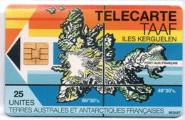 TAAF N° 2 - Iles Kerguelen 25u - Neuve Luxe - Cote: 160,00 € - TAAF - Franse Zuidpoolgewesten